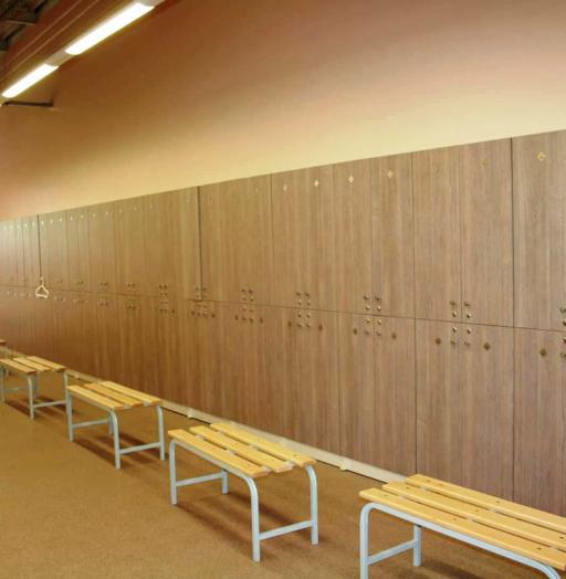 Торговая мебель-Шкафчики для раздевалки «Модель 167»-фото3