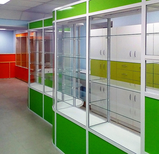 Торговая мебель-Мебель для аптеки «Модель 190»-фото3
