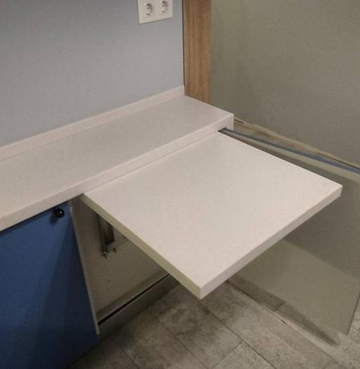 Встроенная кухня-Кухня МДФ в ПВХ «Модель 117»-фото5