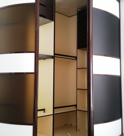 Бельевой шкаф-купе-Шкаф-купе из пластика «Модель 449»-фото2