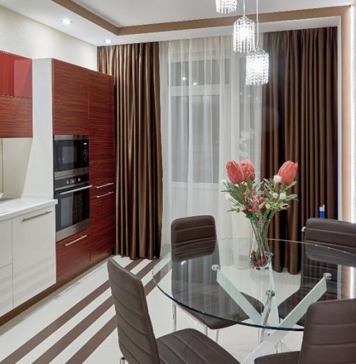 -Кухня МДФ в ПВХ «Модель 17»-фото3