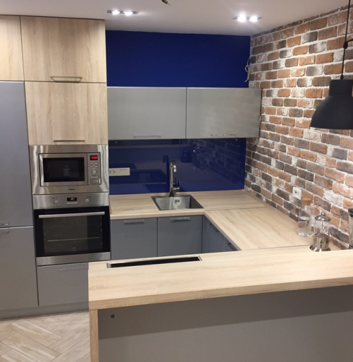 Купить кухню-Кухня МДФ в ПВХ «Модель 59»-фото4