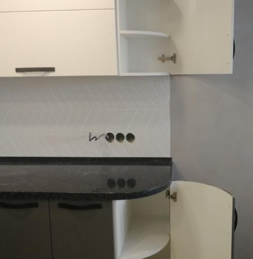 Белый кухонный гарнитур-Кухня МДФ в ПВХ «Модель 29»-фото14
