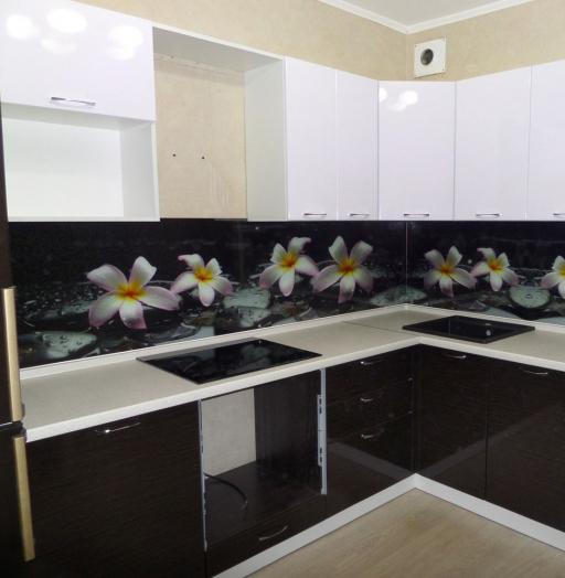 Встроенная кухня-Кухня МДФ в ПВХ «Модель 148»-фото4
