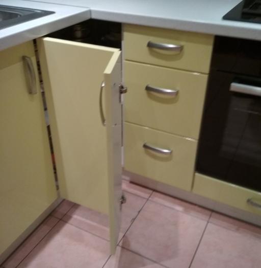 Встроенная кухня-Кухня МДФ в ПВХ «Модель 184»-фото6