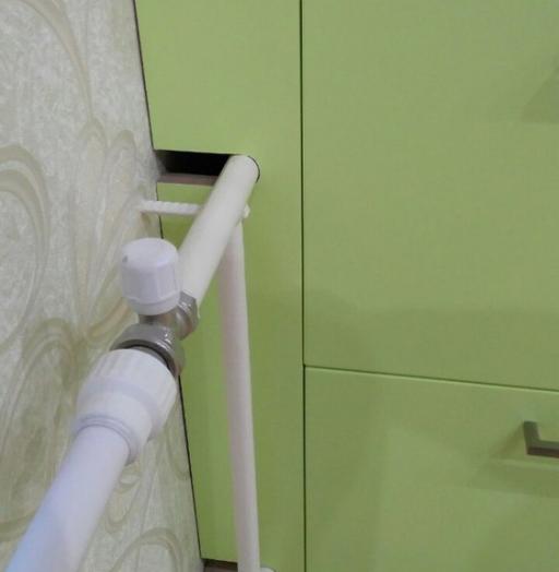Встроенная кухня-Кухня МДФ в ПВХ «Модель 194»-фото5