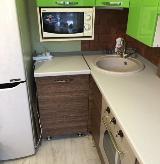Встроенная кухня-Кухня МДФ в ПВХ «Модель 310»-фото8