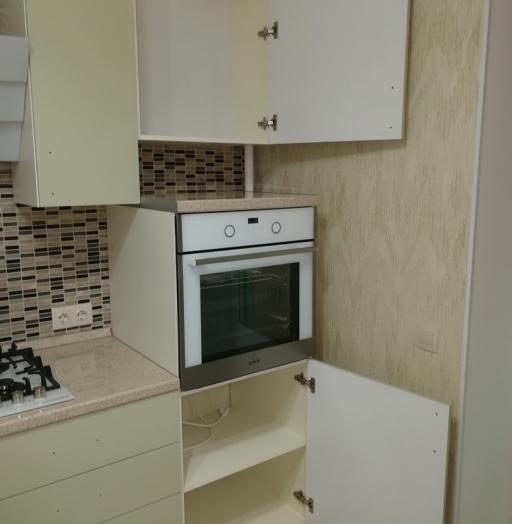 Белый кухонный гарнитур-Кухня МДФ в ПВХ «Модель 526»-фото7