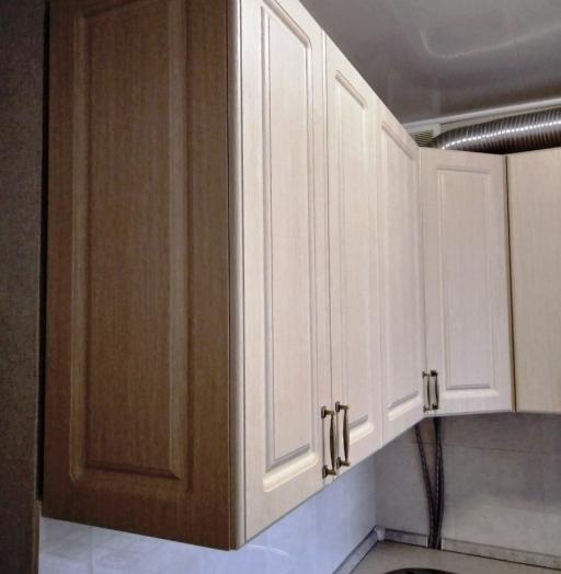 Белый кухонный гарнитур-Кухня МДФ в ПВХ «Модель 534»-фото9