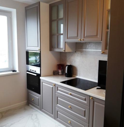 Встроенная кухня-Кухня МДФ в эмали «Модель 541»-фото10