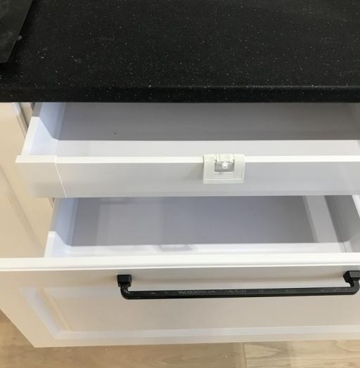 Белый кухонный гарнитур-Кухня МДФ в ПВХ «Модель 553»-фото18