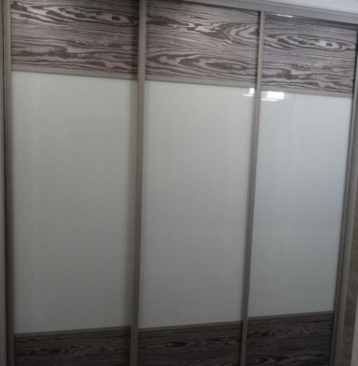 Большой шкаф-купе-Шкаф-купе из стекла Лакобель «Модель 51»-фото4