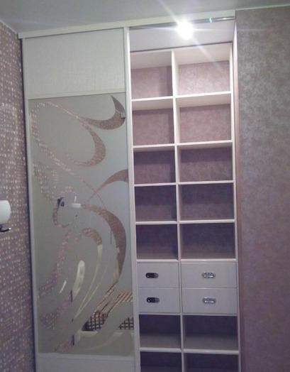 Белые шкафы-купе-Шкаф-купе с зеркалом «Модель 85»-фото4