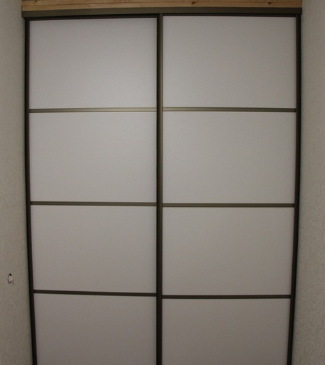 Белые шкафы-купе-Шкаф-купе из ЛДСП «Модель 97»-фото3