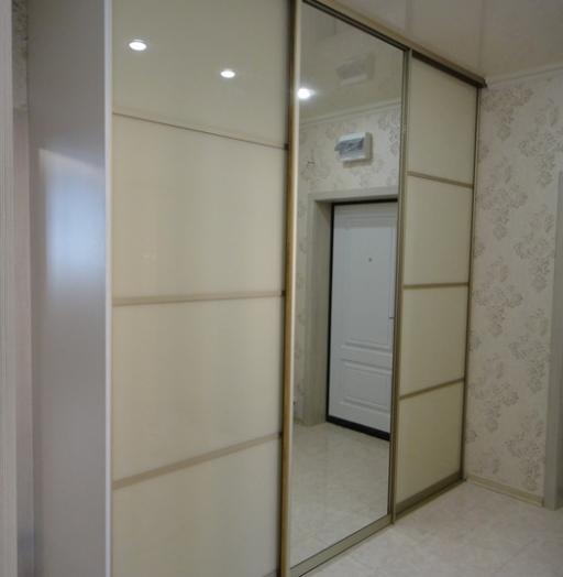Белые шкафы-купе-Шкаф-купе с зеркалом «Модель 179»-фото7