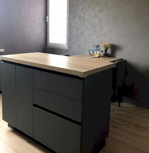 -Кухня МДФ в ПВХ «Модель 596»-фото28