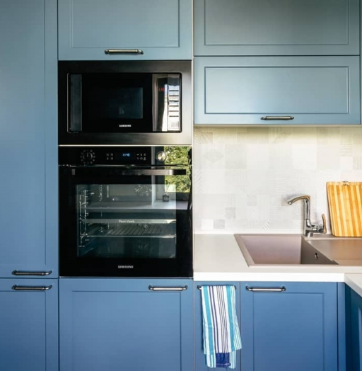 -Кухня МДФ в эмали «Модель 612»-фото19